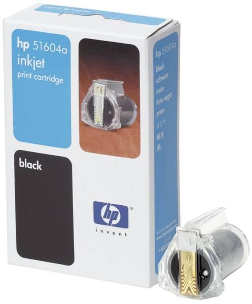 HP Inkjetpatrone schwarz 51604A