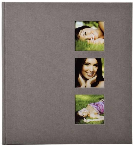 GOLDBUCH Fotoalbum Style grau 27630 30x31cm