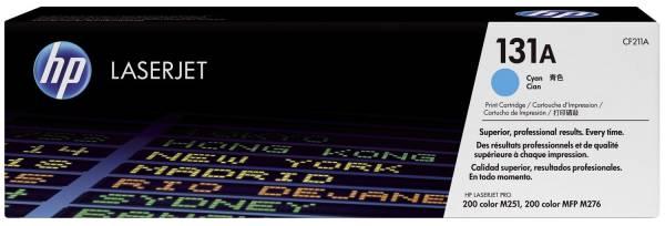 HP Lasertoner Nr. 131A cyan CF211A