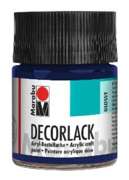 Decorlack Acryl, Dunkelblau 053, 50 ml