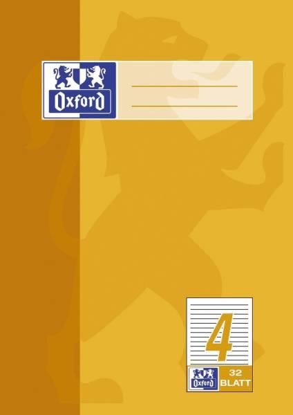 Heft A5 32 Blatt Lineatur 4