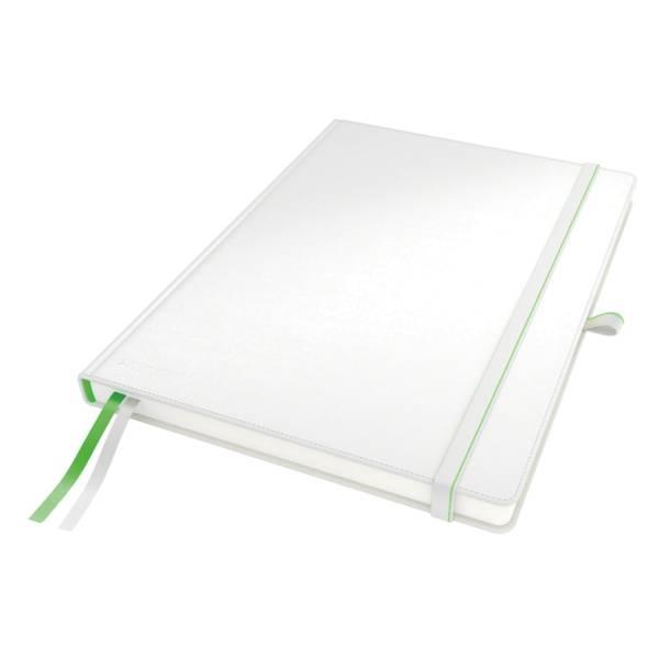 LEITZ Notizbuch A4 Complete weiß 4472-00-01 liniert
