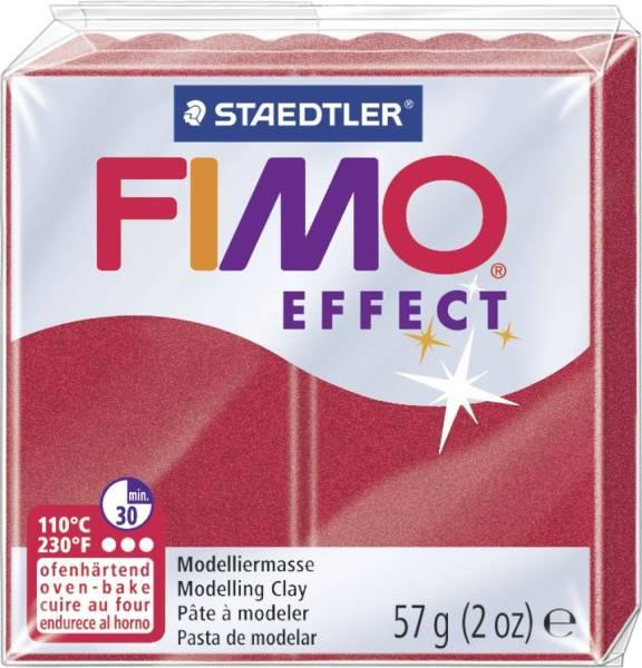 Modelliermasse soft 56 g, rubinrot metallic®