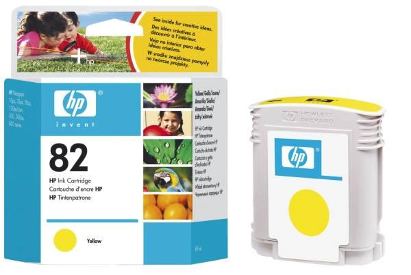 Inkjet Druckpatronen yellow, 1 750 Seiten, C4913A®