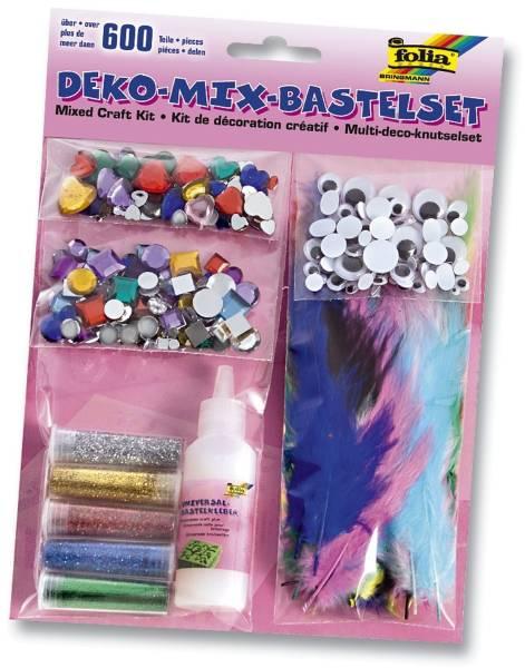 "Bastelset ""Deko Mix"" – ca 600 Teile"