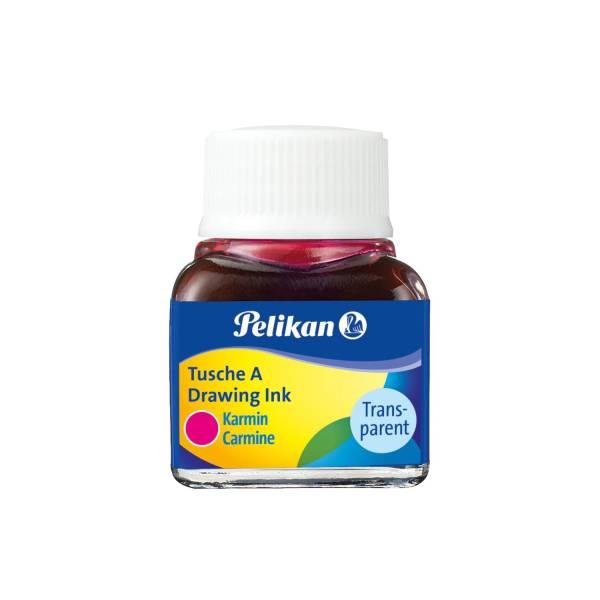 PELIKAN Tusche 10 ml karmin 201517 523-2