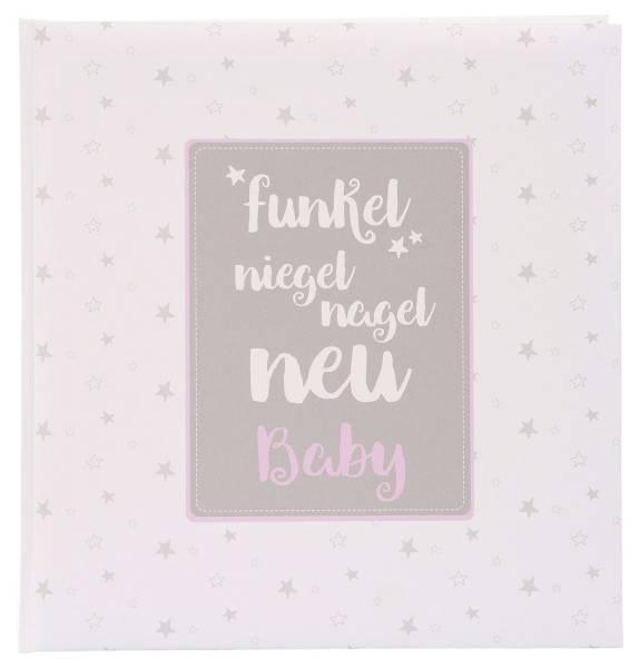 GOLDBUCH Fotobuch Baby funkel niegel nagel rosa 15 806 30x31cm