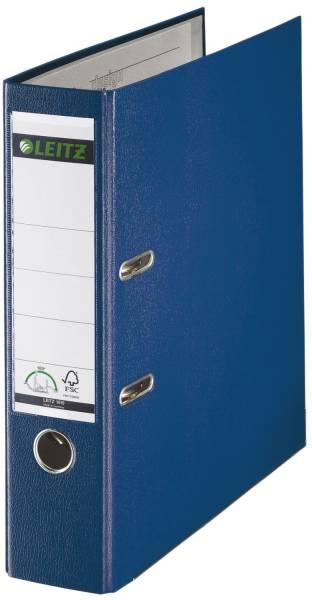 LEITZ Ordner Plastik A4 8cm blau 1010-50-35 180° Mechanik
