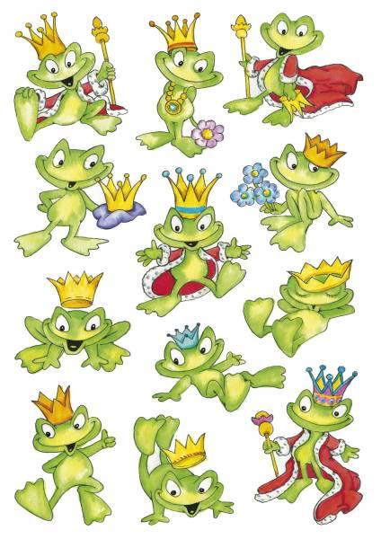 3429 Sticker DECOR Froschkönig