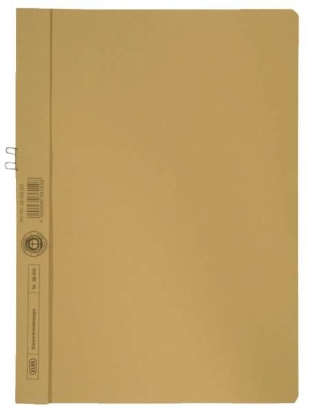 Klemmmappe, Manilakarton (RC), 250 g qm, für 10 Blatt A4, gelb