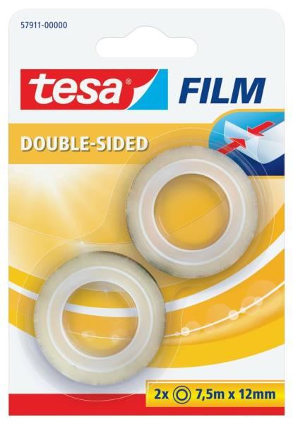 TESA Doppelklebeband 2ST 7,5mx12mm 57911-00000