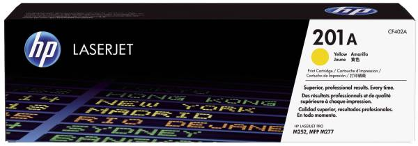 HP Lasertoner Nr.201A yellow CF402A