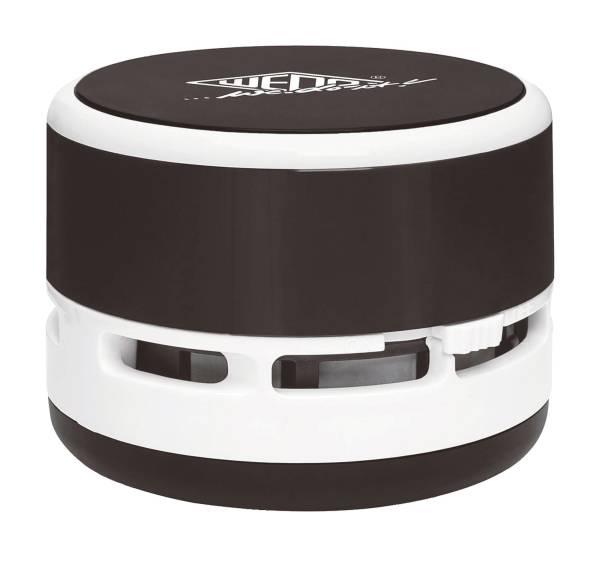 Mini Tischstaubsauger schwarz weiß