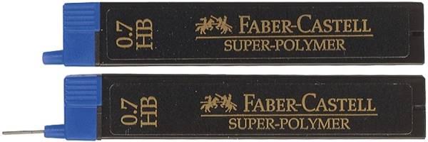 FABER CASTELL Feinmine SuperPolymer HB 0.7 120700 12St