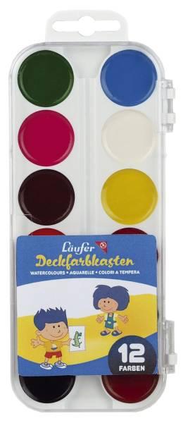 Farbkasten 12 Farben sortiert