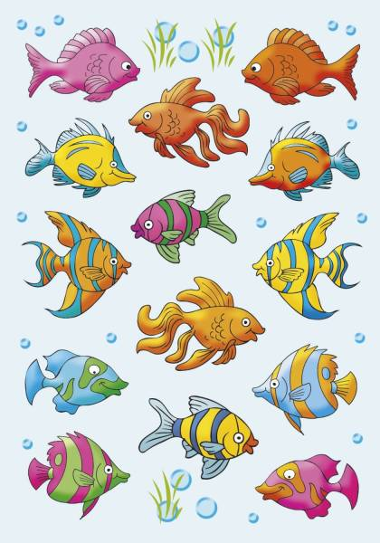 3333 Sticker DECOR Fische