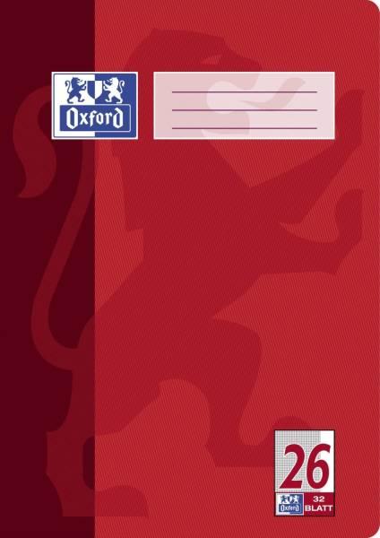Heft A4 32 Blatt Lineatur 26