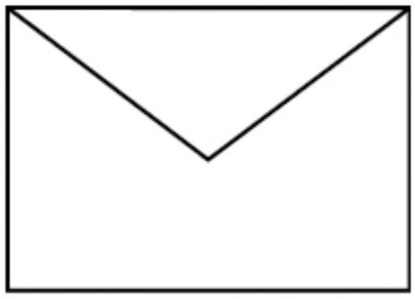 Coloretti Briefumschläge C6, 5 Stück, weiß