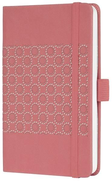 SIGEL Notizbuch A6 liniert salmon pink JN202 Jolie Impress