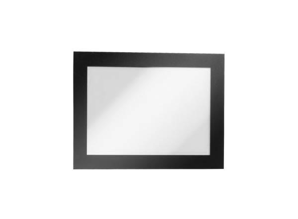DURABLE Prospekttasche A6 2ST schwarz 4870 01 Duraframe