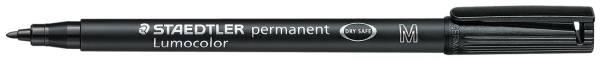STAEDTLER Folienstift Lumocolor M schwarz 317-9 permanent