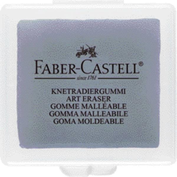 FABER CASTELL Radierer Knetgummi grau 127220