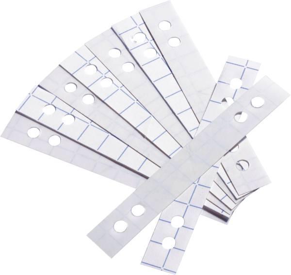 Lochverstärkerstreifen, für 60 + 80 mm Lochung, sk, transp , Beutel mit 50 Stück