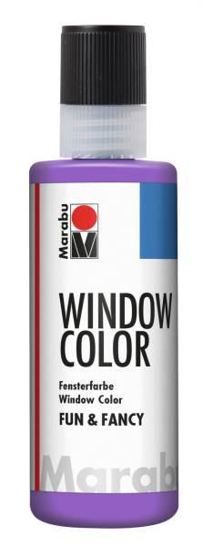 MARABU Fensterfarbe Fun&Fancy lavendel 04060 004 007 80ml