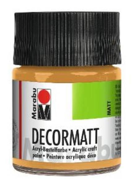 Decormatt Acryl, Metallic Gold 784, 50 ml