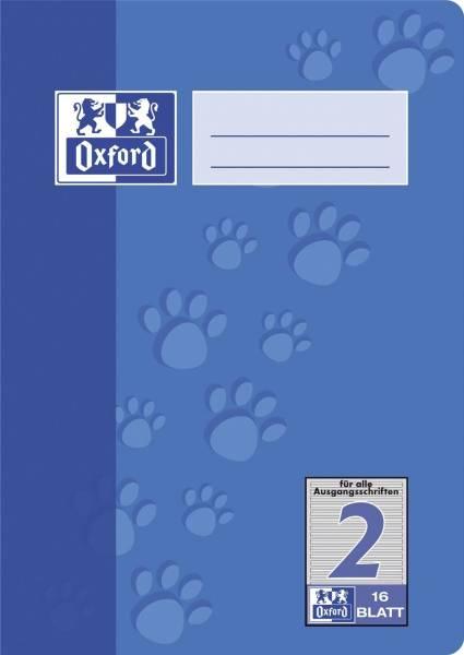 Heft A5 16 Blatt Lineatur 2