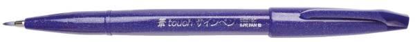 Faserschreiber Sign Pen Brush Pinselspitze, violett