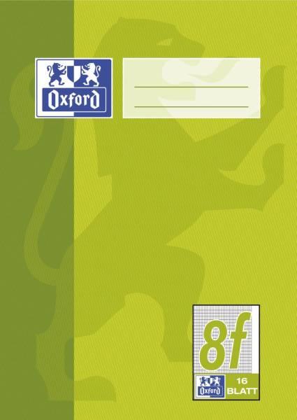 Heft A5 16 Blatt Lineatur 8f