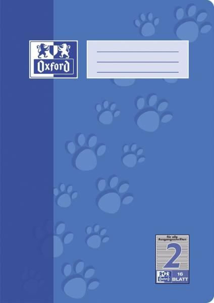 Heft A4 16 Blatt Lineatur 2