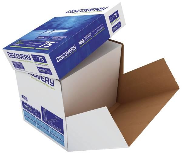 Kopierpapier A4, holzfrei, 75 g qm, weiß, 2500 Blatt