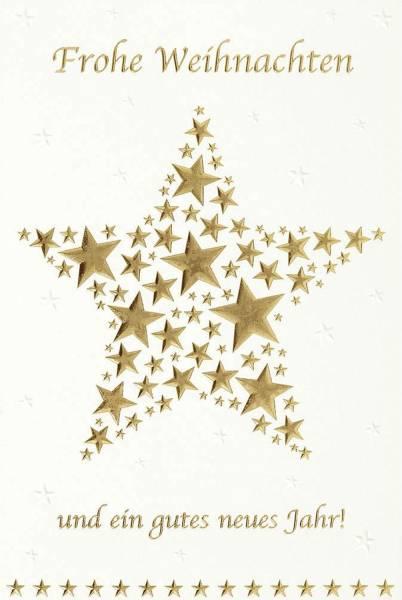 Grußkarte Weihnachts und Neujahrswünsche