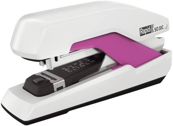 RAPID Heftgerät Supreme weiß/pink 5000551 SO30C HS
