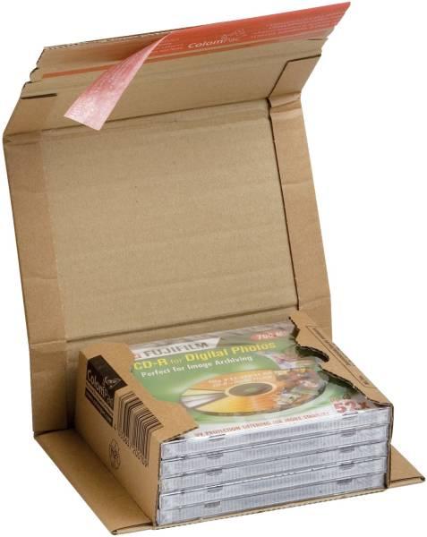 COLOMPAC Versandkarton CDs/DVDs braun 30000217