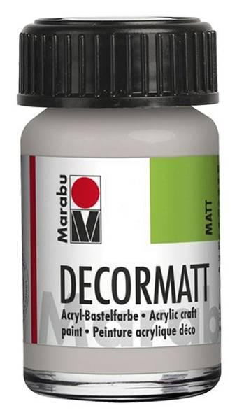 Decormatt Acryl, Metallic Silber 782, 15 ml