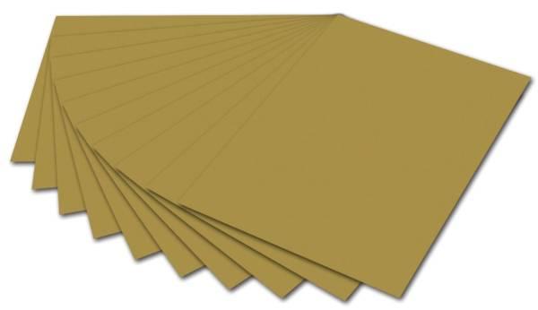 FOLIA Fotokarton 50x70cm gold 6165 E 300g