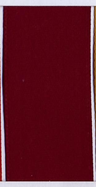 GOLDINA Doppelsatinband 3mmx50m weinrot 897203260050