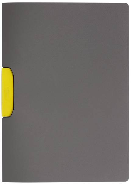 Clip Mappe Duraswing gelb