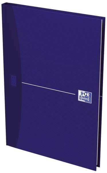 OXFORD Notizbuch A5 96Bl kar. blau 100101749 ECF Office