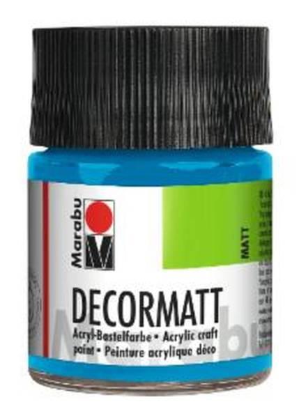 Decormatt Acryl, Azurblau 095, 50 ml