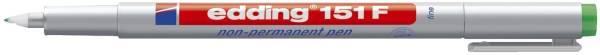 EDDING Folienstift 151F grün 151 004 non permanent