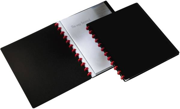 Ringmappe DURALOOK EASY 20 Hüllen, A4, schwarz®