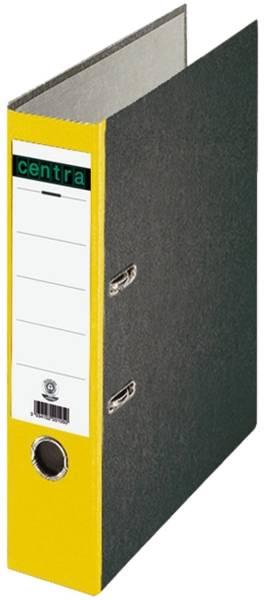Standard Ordner A4, 80 mm, gelb