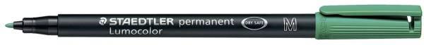 STAEDTLER Folienstift Lumocolor M grün 317-5 permanent