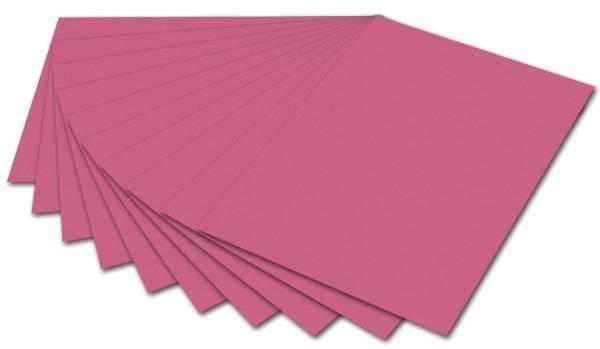 Tonpapier 50 x 70 cm, altrosa