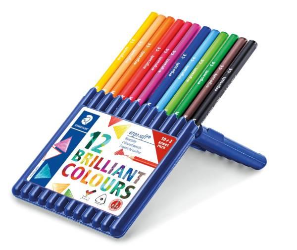 ergo soft 157 Farbstift 3 mm, Box mit 12 Farben®