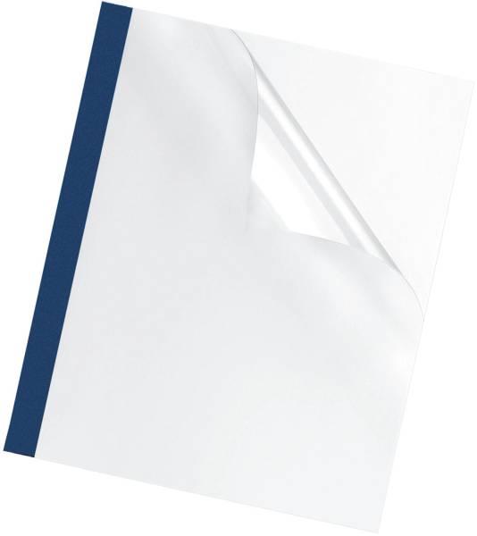 Thermobindemappe Prestige 3 mm, blau, 100 Stück